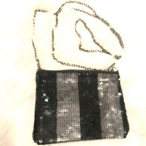 PINK Victoria's Secret Sequin with Chain Crossbody